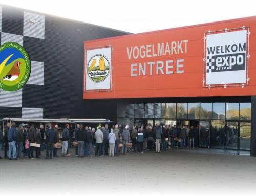 Vogelmarkt 24 oktober in Assen gaat NIET door.