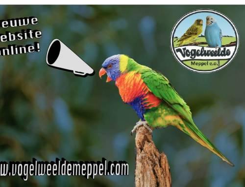 Nieuwe website Vogelweelde online!